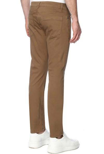 Network Erkek Skinny Camel Casual Pantolon