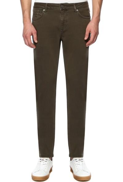 Network Erkek Haki Skinny Casual Pantolon