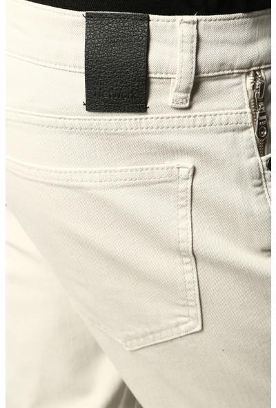 Network Erkek Dar Paça Taş Casual Pantolon