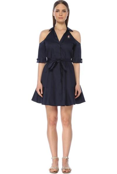 Network Kadın Mini Boy Lacivert Elbise