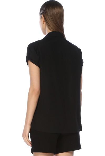 Network Kadın Siyah Gömlek