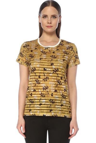 Network Kadın Regular Fit Safran Tshirt