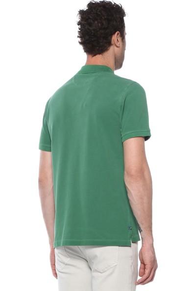 Network Erkek Polo Yaka Yeşil Tshirt