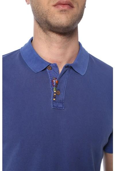Network Erkek Polo Yaka Saks Tshirt