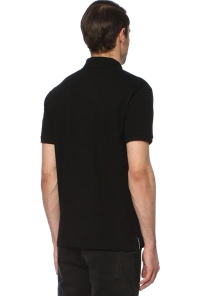 Network Erkek Polo Yaka Siyah Tshirt