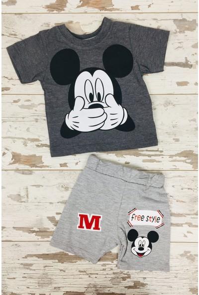 Ram Çocuk Mickey Mouse 2'li Takım