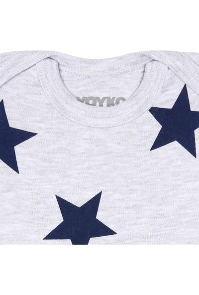 Yoyko Star Kısa Kol Body