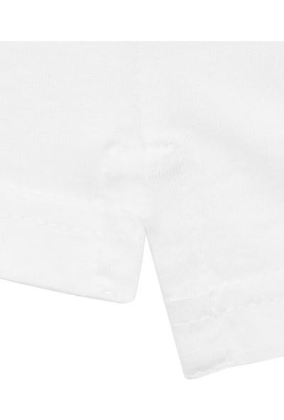 Just Cavalli Erkek Bisiklet Yaka T-Shirt Rn 154143 U002112 - Beyaz