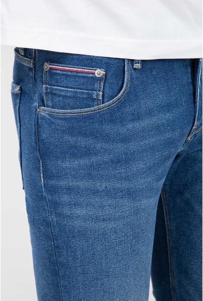 Tommy Hilfiger Erkek Pantolon MW0MW08755 U002169 - Mavi