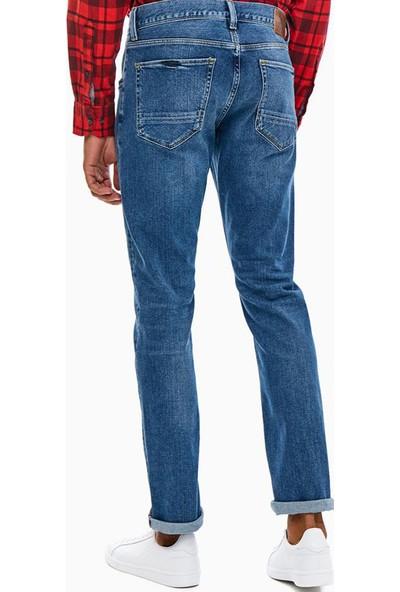 Tommy Hilfiger Erkek Pantolon MW0MW08760 U002181 - Mavi