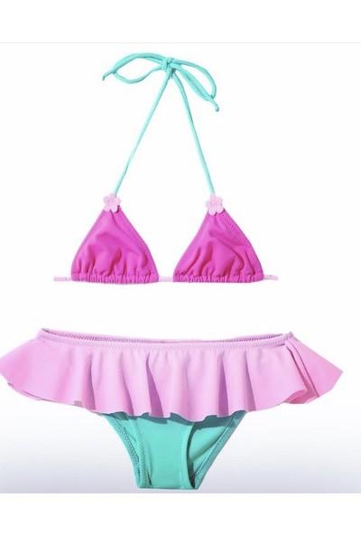 Viva Playa 751 Etekli Üçgen Bikini