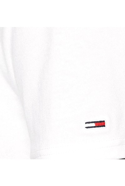 Tommy Hilfiger Erkek T-Shirt Dm0Dm07852-Ybr