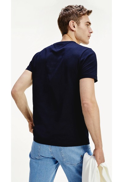 Tommy Hilfiger Erkek T-Shirt Mw0Mw13328-Dw5