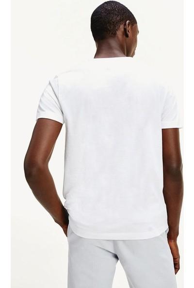 Tommy Hilfiger Erkek T-Shirt Mw0Mw13328-Ybr