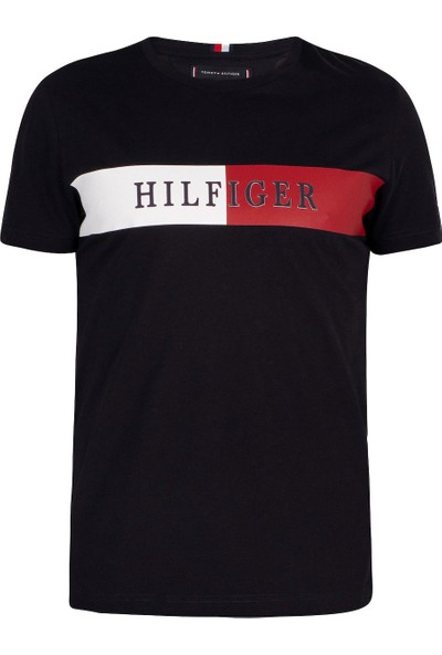 Tommy Hilfiger Erkek T-Shirt Mw0Mw13330-Bds