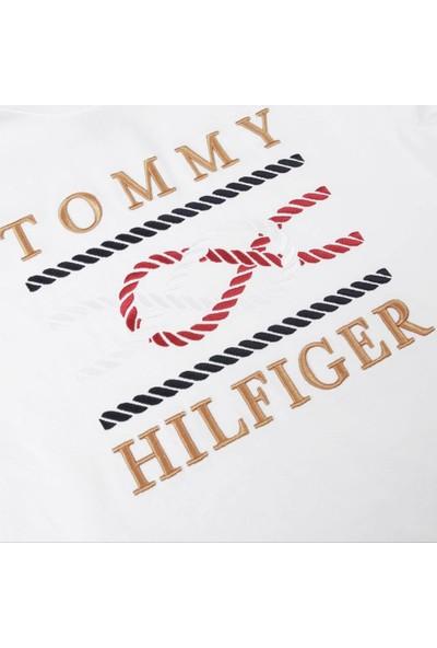 Tommy Hilfiger Erkek T-Shirt Mw0Mw13340-Ybr