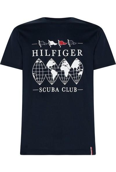 Tommy Hilfiger Erkek T-Shirt Mw0Mw13359-Dw5