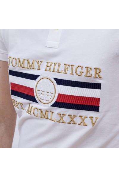 Tommy Hilfiger Erkek T-Shirt Mw0Mw13537-Ybr