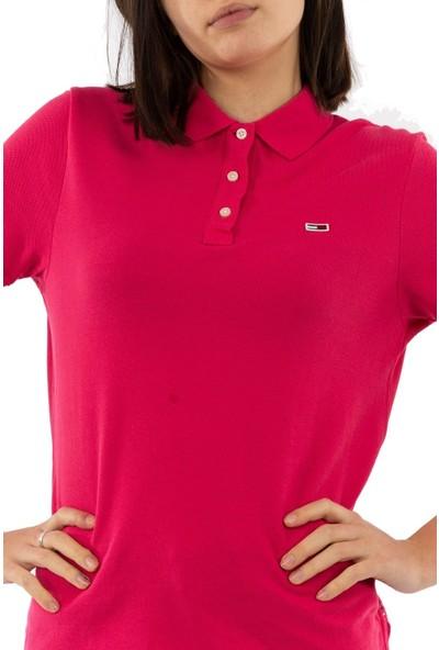 Tommy Hilfiger Kadın T-Shirt Dw0Dw07641-Xıf