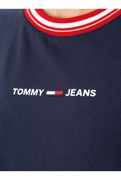 Tommy Hilfiger Kadın T-Shirt Dw0Dw08057-C87
