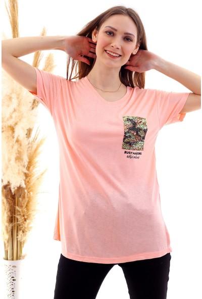 Cotton Mood 20050507 Süprem Pul Payet Cpli V Yaka Tişort