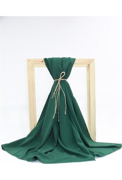 Medine Ipeği Şal SL043-PETROL Yeşili