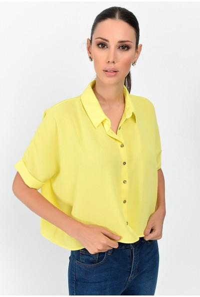 Miss Lusi 9363058 Sunshine Kısa Salash Gömlek