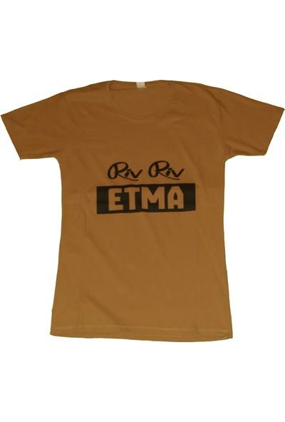 Emir Riv Riv Etma Yazılı Tshirt