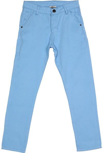 Nanica Basic Chino Erkek Çocuk Pantolon-Mavi