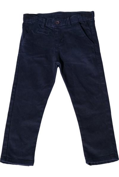 Nanica Basic Chino Erkek Çocuk Pantolon-Lacivert