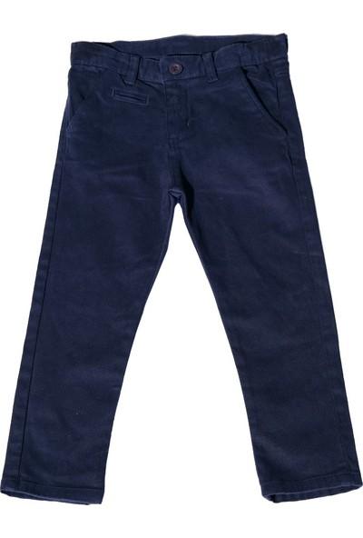 Nanica Gabardin Erkek Çocuk Pantolon-Lacivert