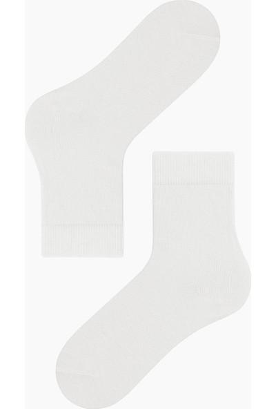 Bross Düz Çocuk Çorabı Ekru