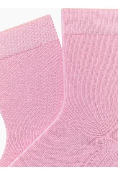 Bross Düz Çocuk Çorabı Pembe