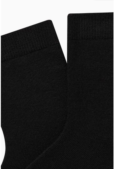 Bross Düz Çocuk Çorabı Siyah