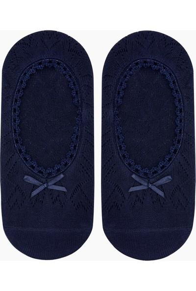 Bross File Babet Kadın Çorabı Lacivert