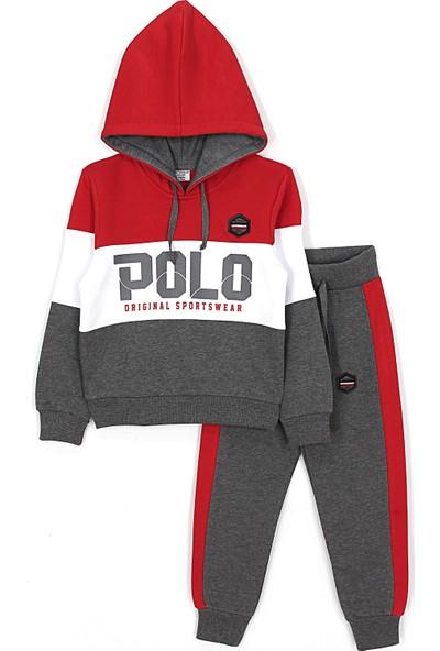 Ny. Polo Kalın Kışlık Erkek Çocuk Eşofman Takımı 4 - 11 Yaş Aralığı