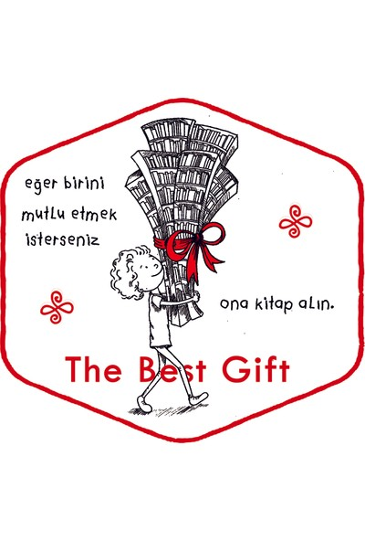 Bookbag The Best Gift Doğal Keten Çanta