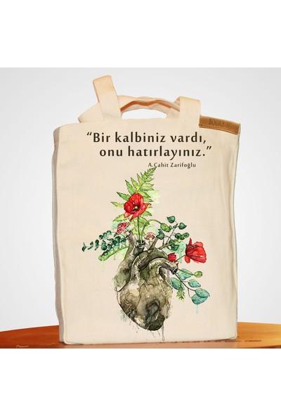 Bookbag Zarifoğlu Doğal Keten Çanta