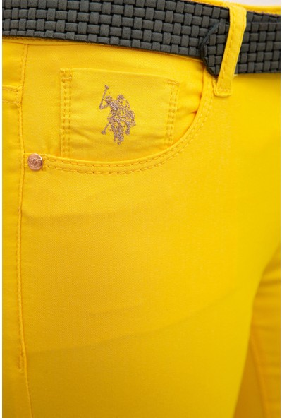 U.S. Polo Assn. Kadın Dokuma Spor Pantolon 50202690-VR044