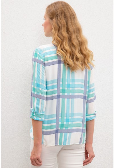U.S. Polo Assn. Kadın Gömlek 50218792-VR090