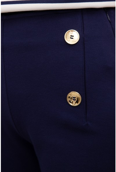 U.S. Polo Assn. Kadın Örme Şort 50219302-VR033