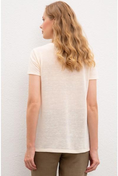 U.S. Polo Assn. Kadın T-Shirt 50218063-VR071