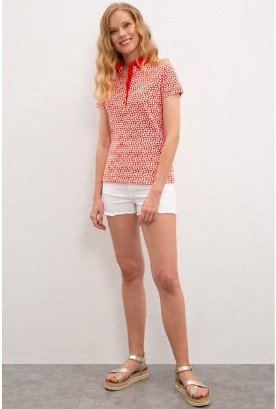 U.S. Polo Assn. Kadın T-Shirt 50220123-VR039