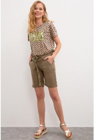 U.S. Polo Assn. Kadın T-Shirt 50217705-VR027