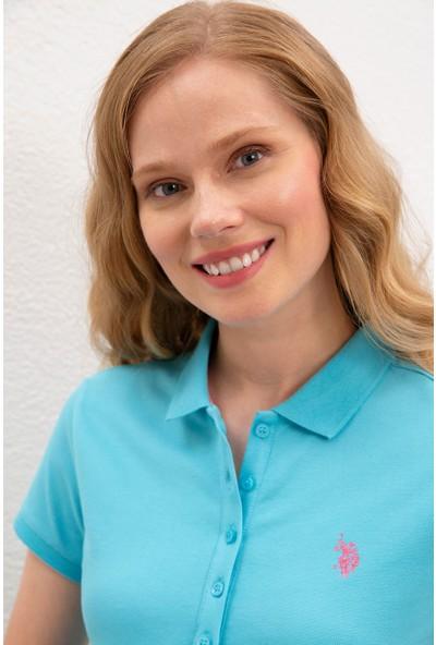 U.S. Polo Assn. Kadın T-Shirt 50222743-VR093