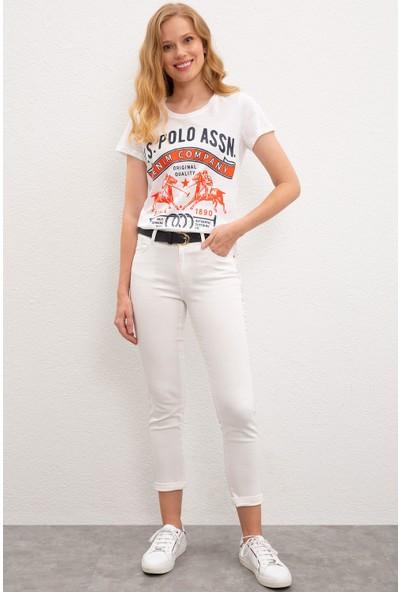 U.S. Polo Assn. Kadın T-Shirt 50222102-VR013