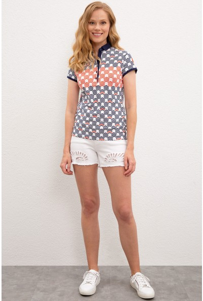 U.S. Polo Assn. Kadın T-Shirt 50222117-VR033