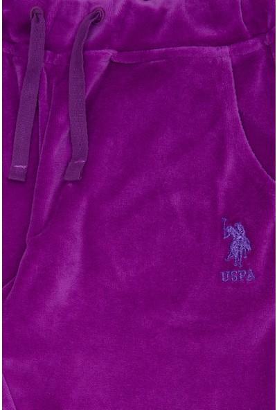 U.S. Polo Assn. Kız Çocuk Örme Pantolon