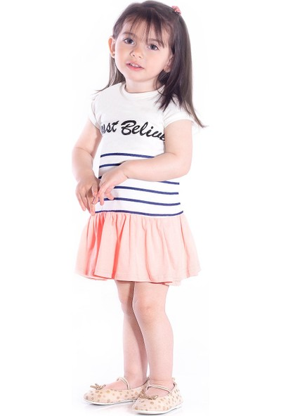 Oulabimir Yazlık Kız Çocuk Elbisesi