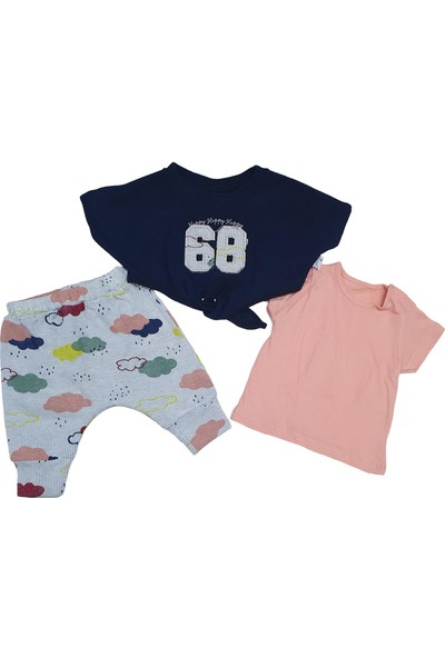 Hippıl Baby 68 Işlemeli Önden Bağlamalı Takım